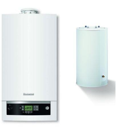 Pachet centrala condensatie Buderus logamax Plus GB 072 - 24KW V2 + Boiler S120