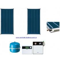 Pachet 2 panouri solare plane Buderus Logasol CKN 2.0